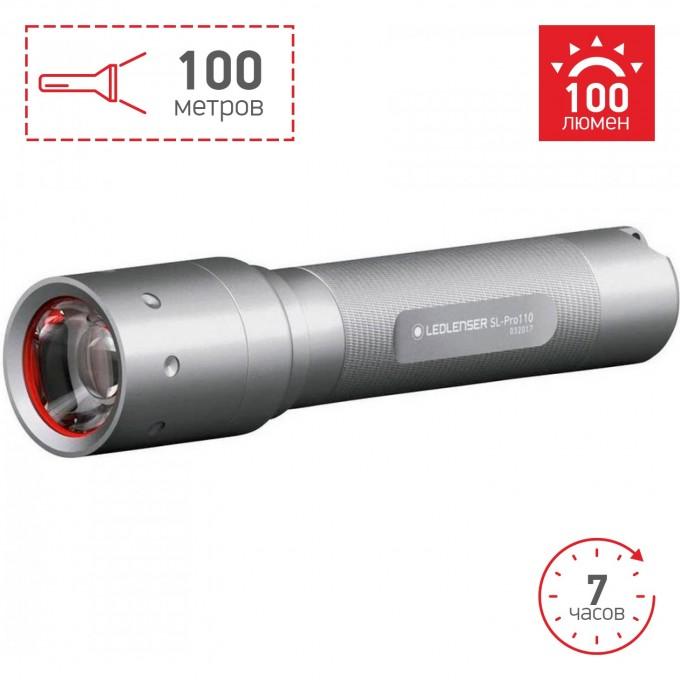 Фонарь LED LENSER Solidline SL-Pro 110 501066