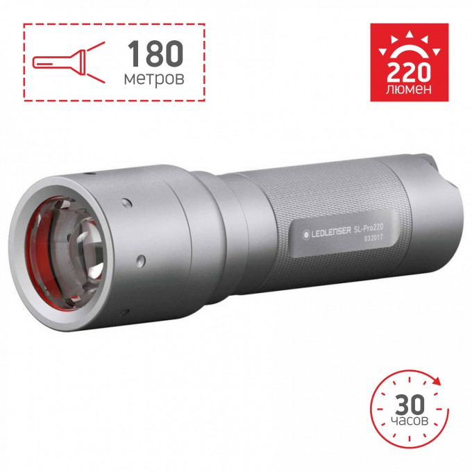 Фонарь LED LENSER Solidline SL-Pro 220 501067